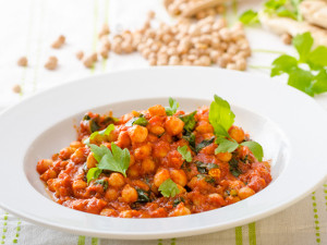 Chickpea & Tomato Curry