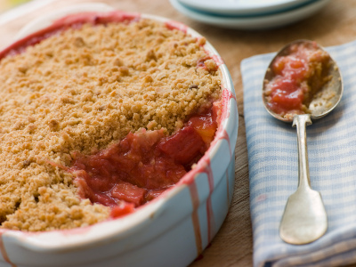 Healthy Fruit Crumble